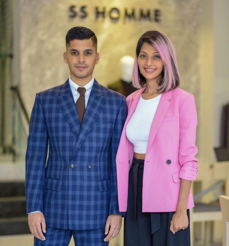 SS Homme Sarah and Sandeep