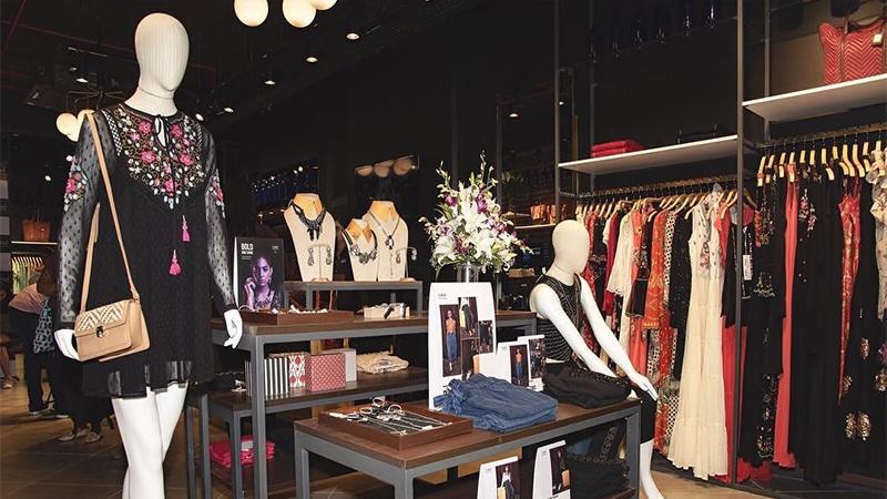 Label Ritu Kumar store in Mumbai