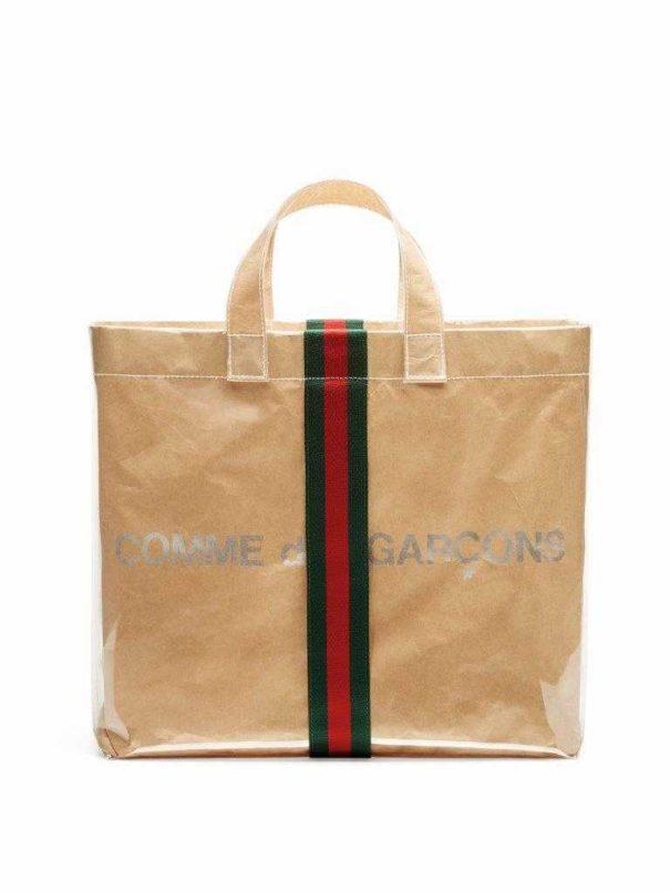 Gucci x Comme des Garçons shopper bag