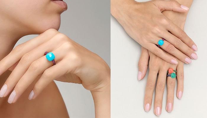 Turquoise, December Birthstone: Pomellato