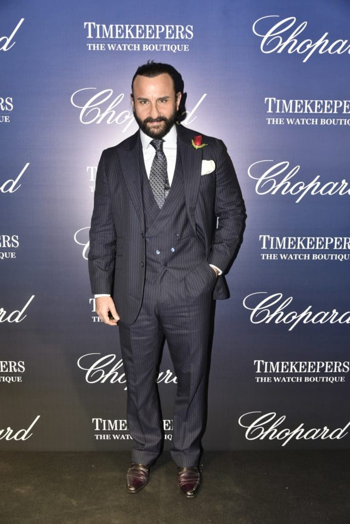Saif Ali Khan at TimekeepersXChopard event