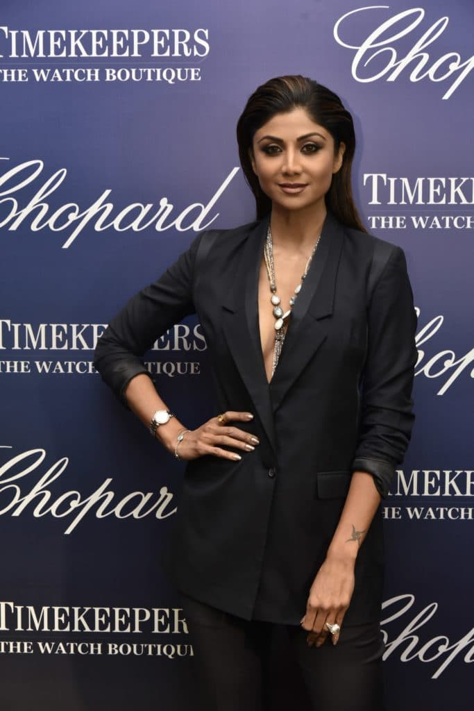 Shilpa Shetty at TimekeepersXChopard event