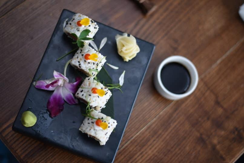 Sushi at Whisky Samba, Gurugram