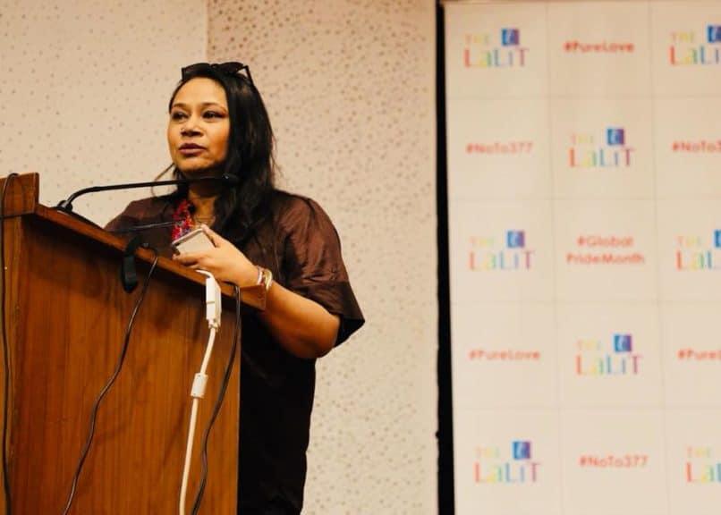 Art Curator Myna Mukherjee