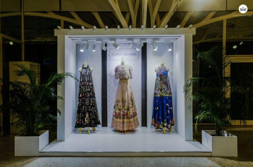 A display by Rahul Mishra
