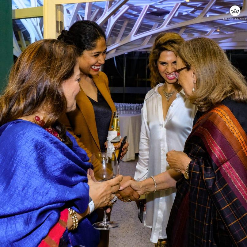 Asha Patel, Preetika Mathew, Gauri Malhotra Narang & Pheroza Godrej