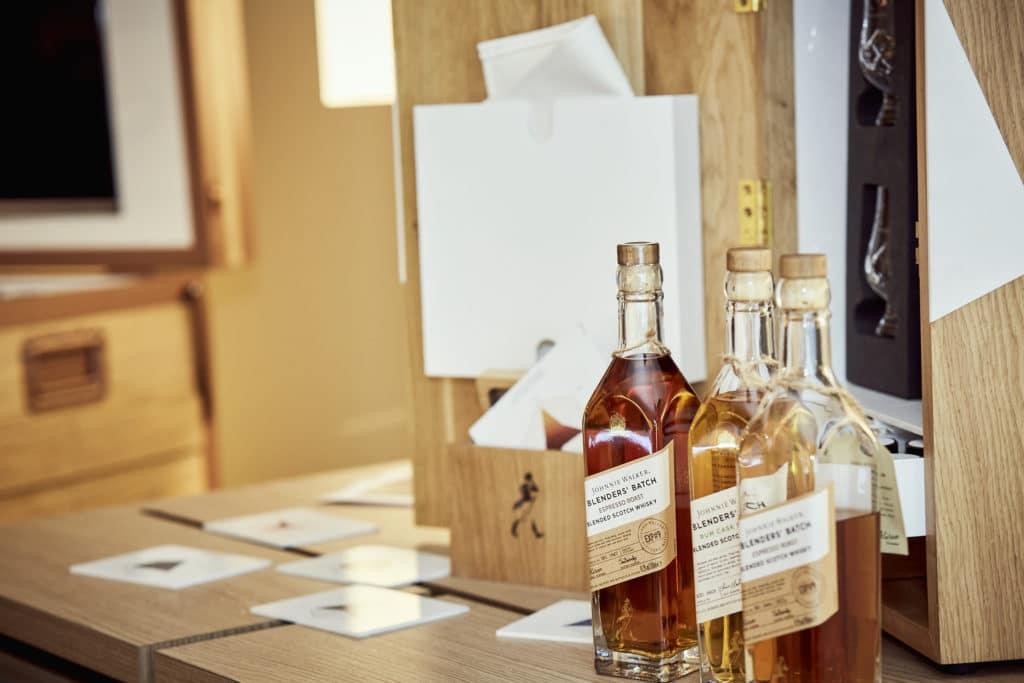 storing scotch whiskies