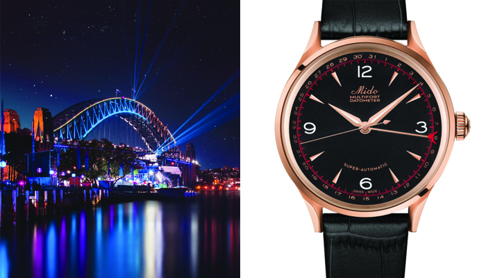 Watches inspired by Architecture: Mido