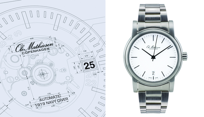 Watches inspired by Architecture: Ole Mathiesen