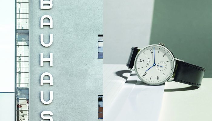 Watches inspired by Architecture: NOMOS Glashutte