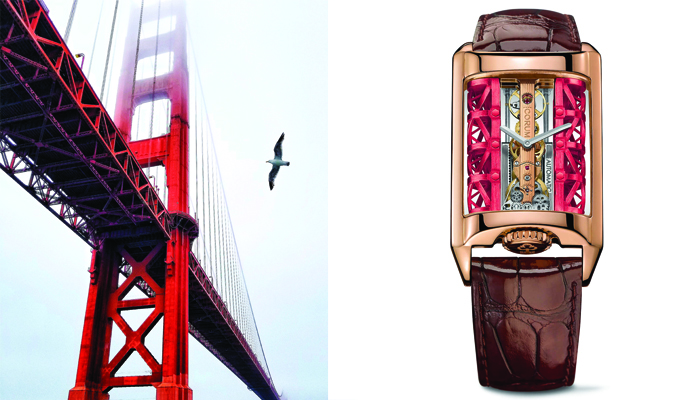 Watches inspired by Architecture: Corum