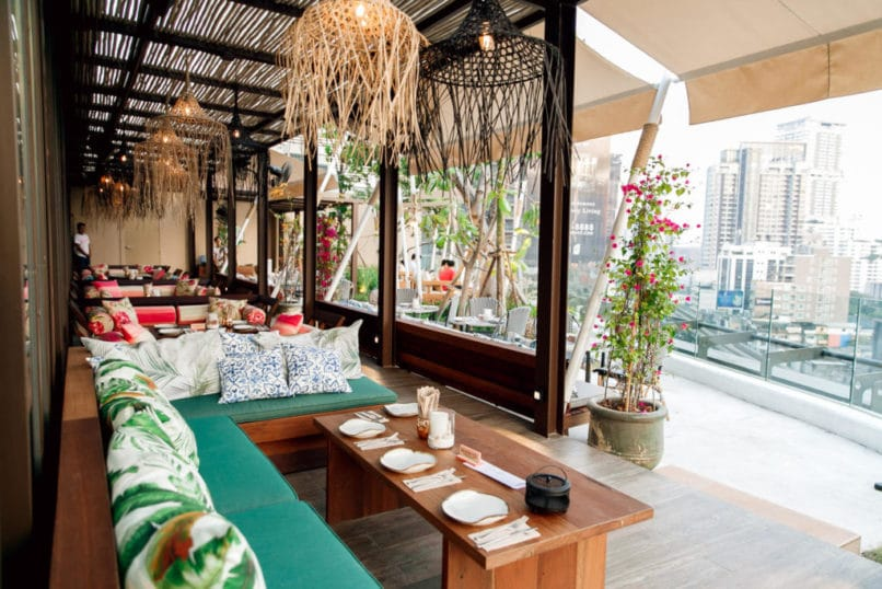 Best New Bars in Bangkok 2018: Escape Bangkok