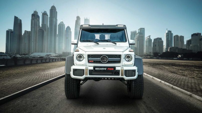 Brabus flips a Mercedes G-Class into a 4×4 off-road beast