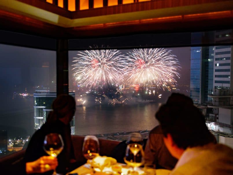 New year's eve parties Hong Kong - Cafe Gray Deluxe