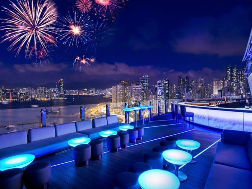 New year's eve parties Hong Kong - Skye