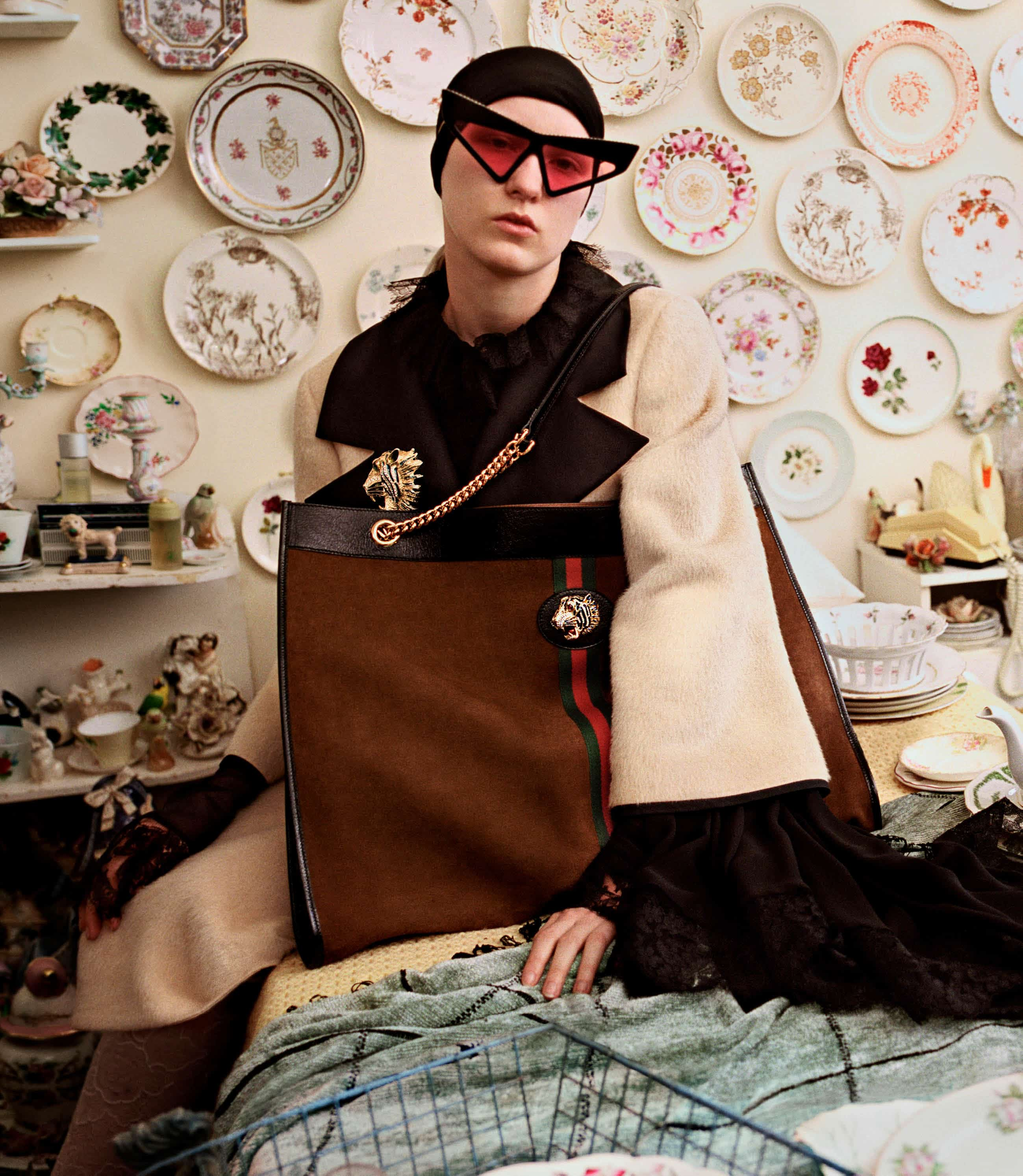 bd5a1ff01a0c There's a bit of India in Alessandro Michele's latest Rajah bag line for  Gucci