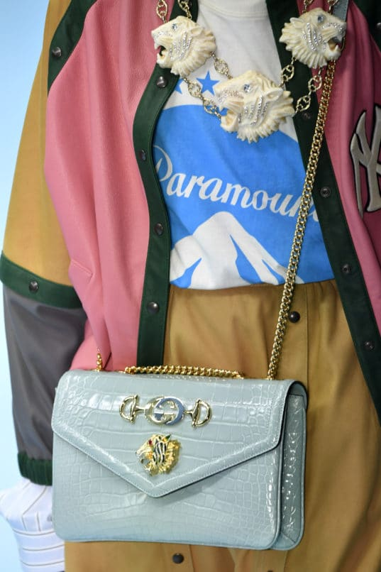 Gucci's Rajah shoulder bag