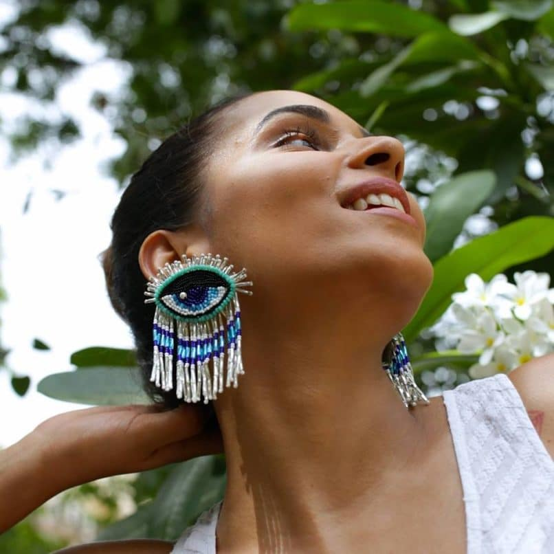Earrings by Olivia Dar
