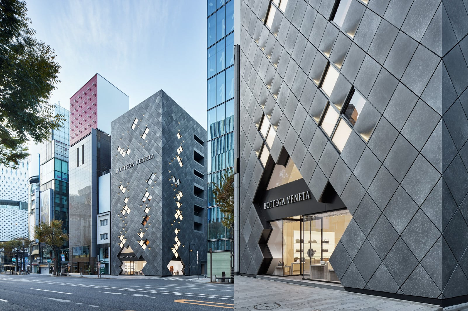 b27116e034550 Spanning six floors with 800 square metres of retail space, Bottega  Veneta's new flagship store is the brand's biggest retail presence in Asia,  ...