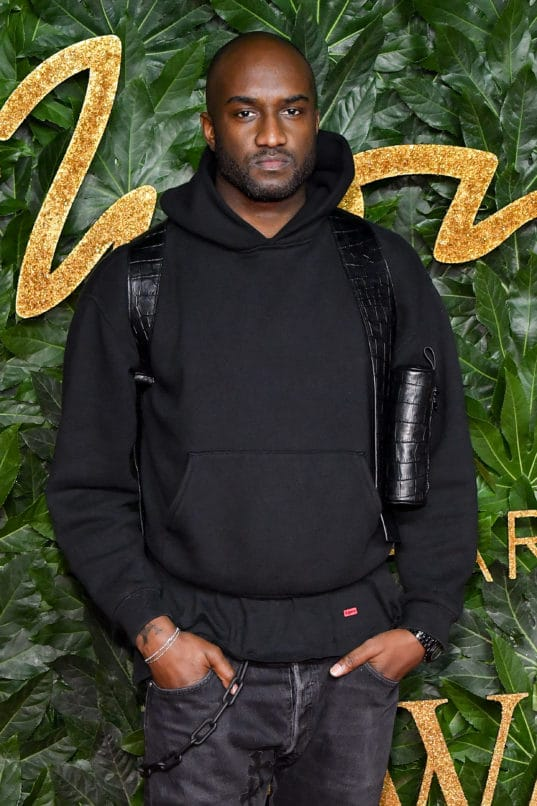 Virgil Abloh attends the British Fashion Awards 2018. Image: Credit Stephane Cardinale - Corbis/Corbis via Getty Images