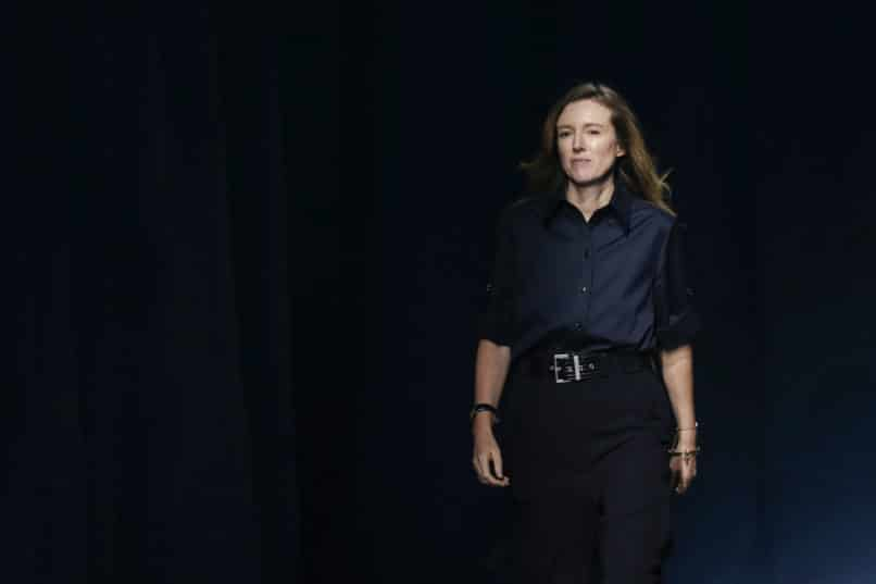 Clare Waight Keller during the Givenchy Spring/Summer 2019
