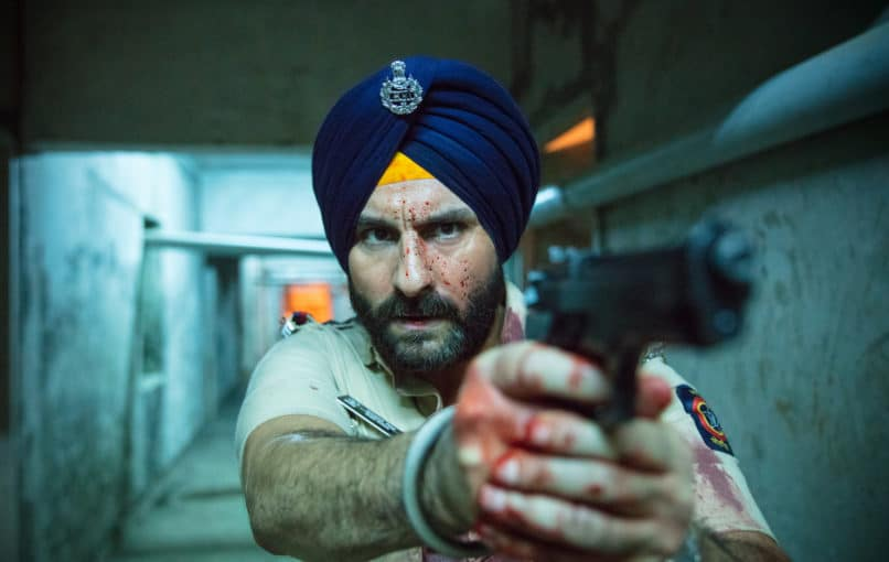 Best Indian web series 2018. Sacred Games, a Netflix Originals web series