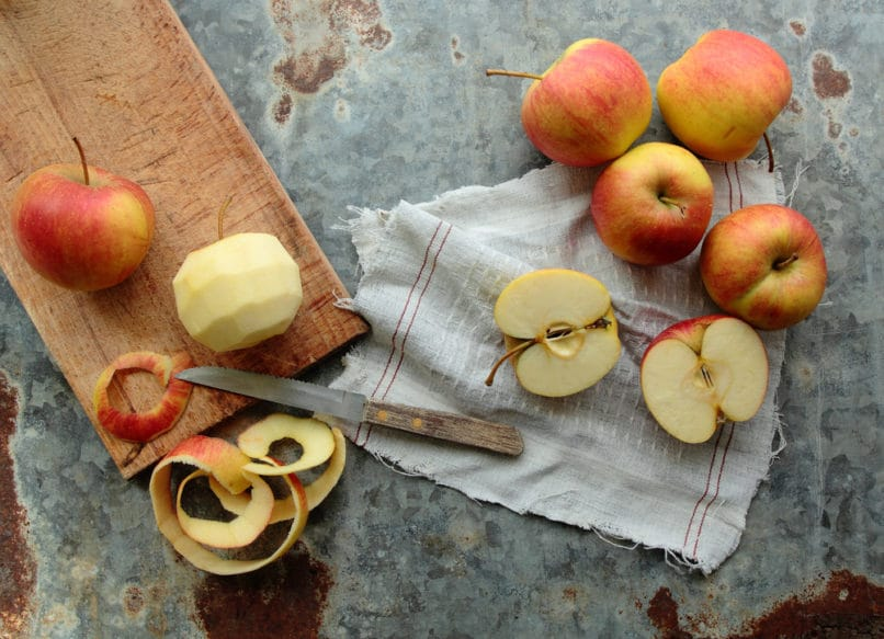 Apple peel. Food trends 2019 India