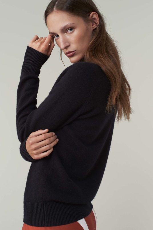 Victoria Beckham's take on a classic cashmere polo neck
