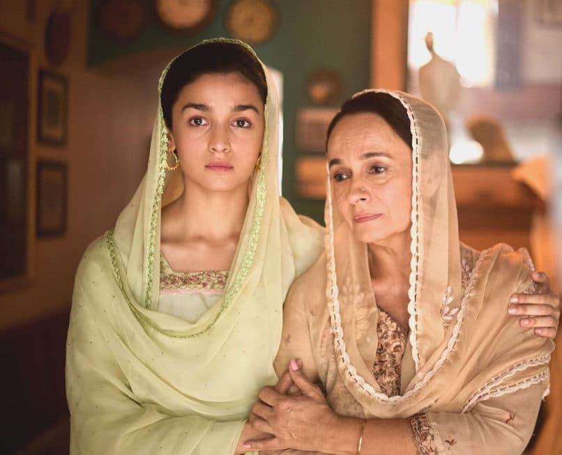 Alia Bhatt in Raazi. The best Bollywood performances 2018