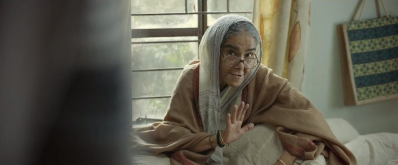 Surekha Sikri in Badhai Ho. The best Bollywood performances 2018