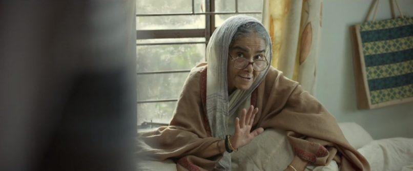 Surekha Sikri in Badhai Ho. The best Bollywood performances 2018