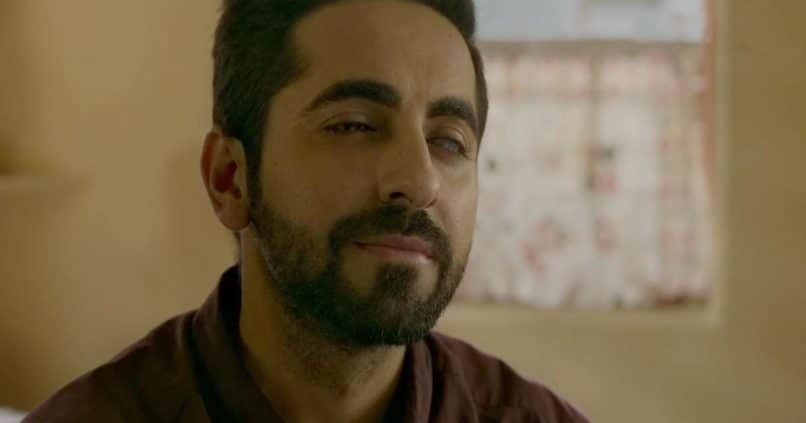 Ayushmann Khurrana in Andhadhun. The best Bollywood performances 2018