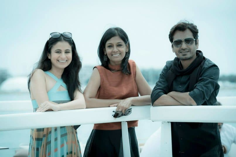 Rasika Dugal with Nandita Das and Nawazuddin Siddiqui at Cannes, for their movie Manto. Interview with Rasika Dugal