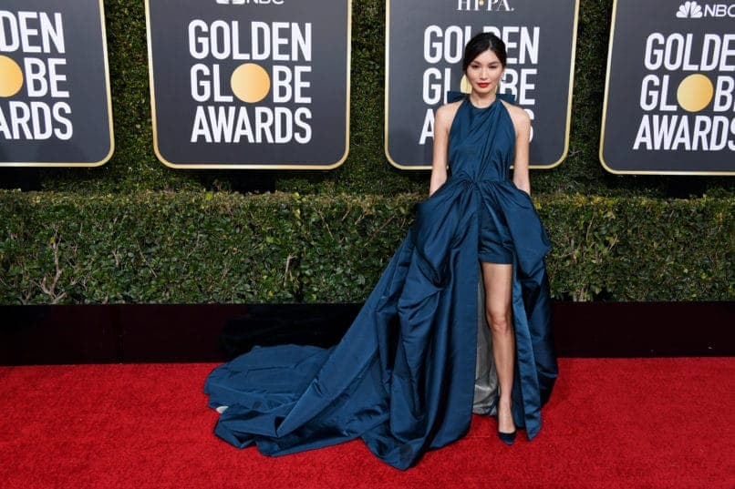BEVERLY HILLS, CA - JANUARY 06: Gemma Chan attends the 76th Annual Golden Globe Awards at The Beverly Hilton Hotel on January 6, 2019 in Beverly Hills, California. (Photo by Daniele Venturelli/WireImage)