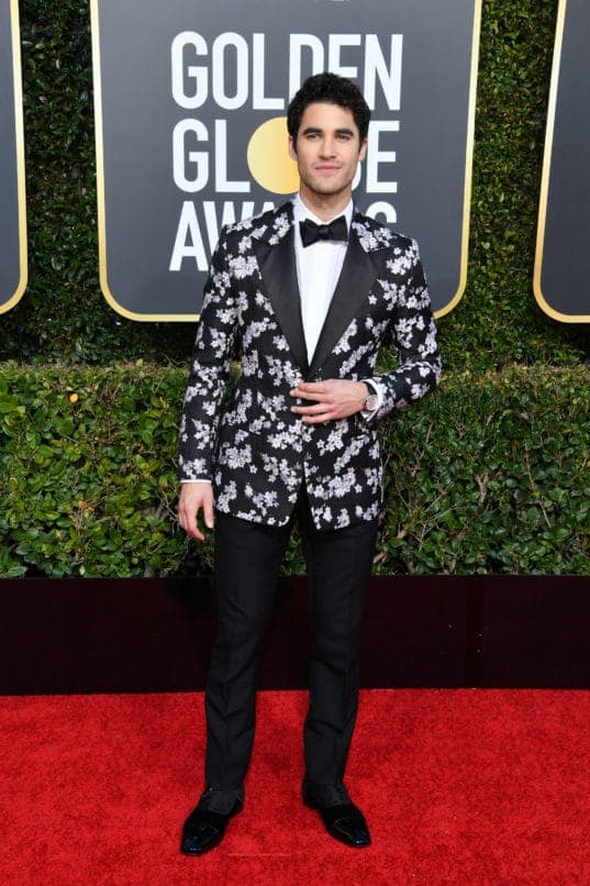 BEVERLY HILLS, CALIFORNIA - JANUARY 06: Darren Criss attends the 76th Annual Golden Globe Awards held at The Beverly Hilton Hotel on January 06, 2019 in Beverly Hills, California. (Photo by George Pimentel/WireImage)