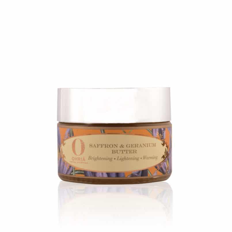 Ohria Ayurveda Saffron Geranium Butter