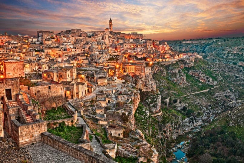 Matera, Italy. Top travel destinations 2019