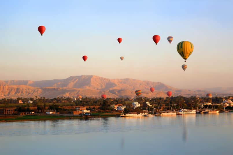 Nile, Egypt. Top travel destinations 2019