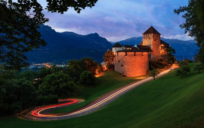 Liechtenstein. Top travel destinations 2019