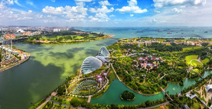 Singapore. Top travel destinations 2019