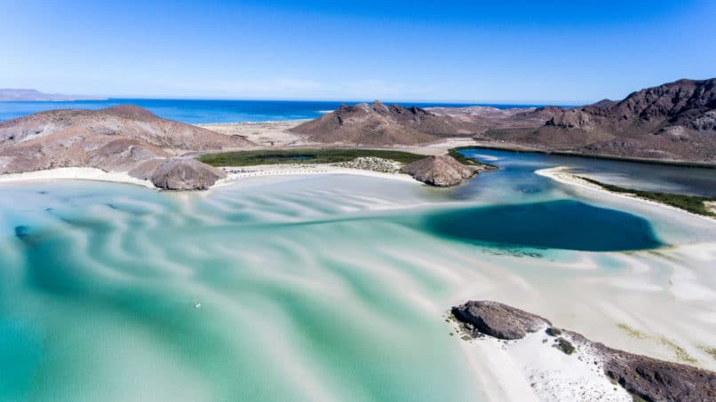 Baja, California. Top travel destinations 2019