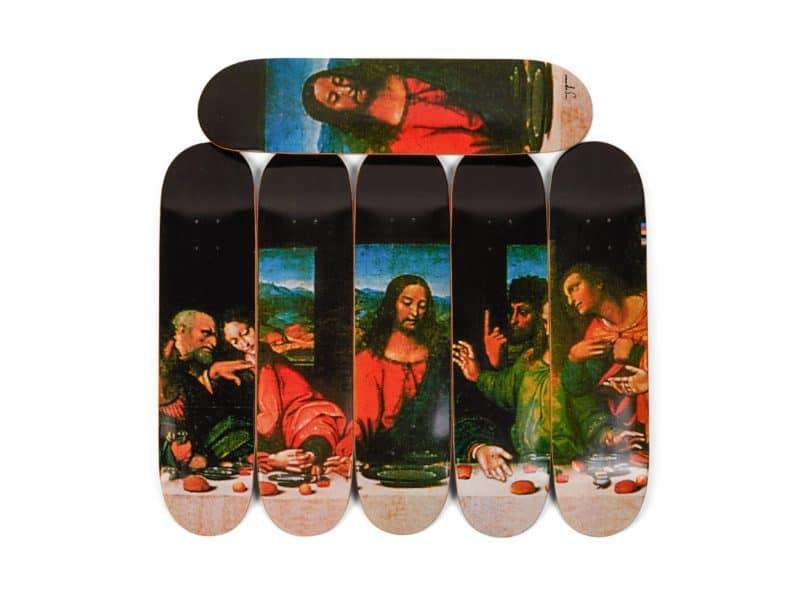 Supreme - skate decks Sotheby's
