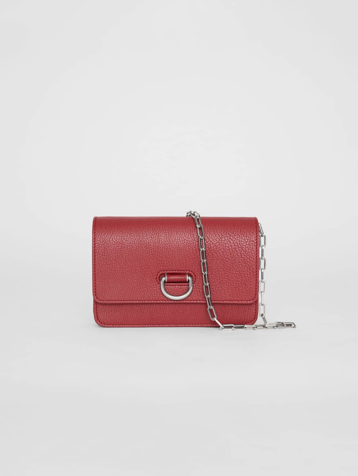 The Burberry Mini Leather D-ring Bag (S$1,580).