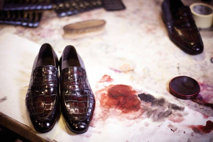 Berluti Paris Bespoke Leather Tattooing