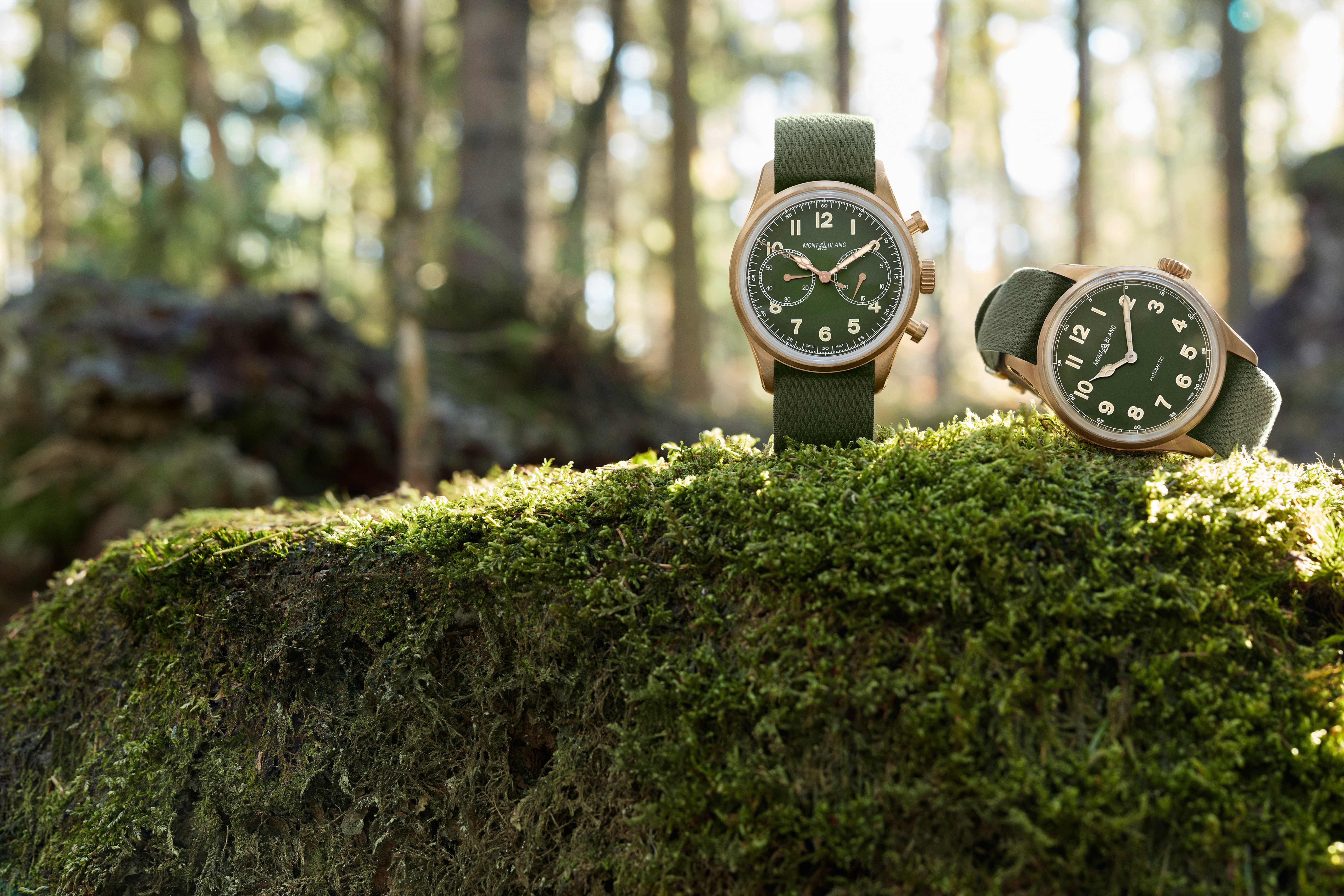 Montblanc's new nature inspired 1858 collection