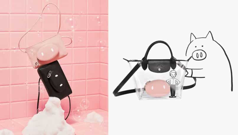 Year of the Pig Lunar New Year Fashion Collections: Longchamp