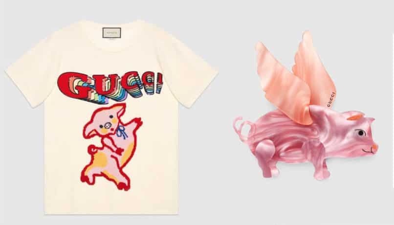Year of the Pig Lunar New Year Fashion Collections: Gucci