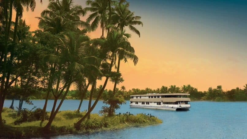 The Oberoi Motor Vessel Vrinda. Best Indian cruises