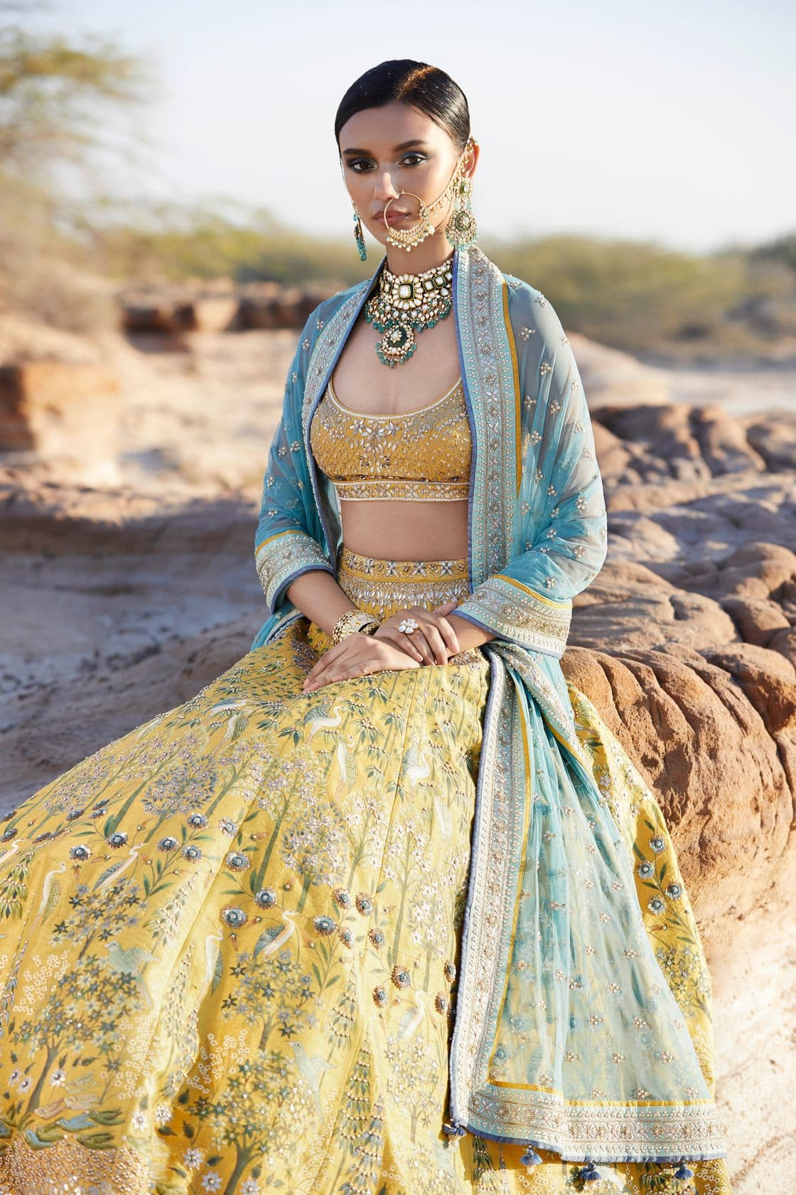 Anita Dongre's limited edition Pichwai collection has just launched
