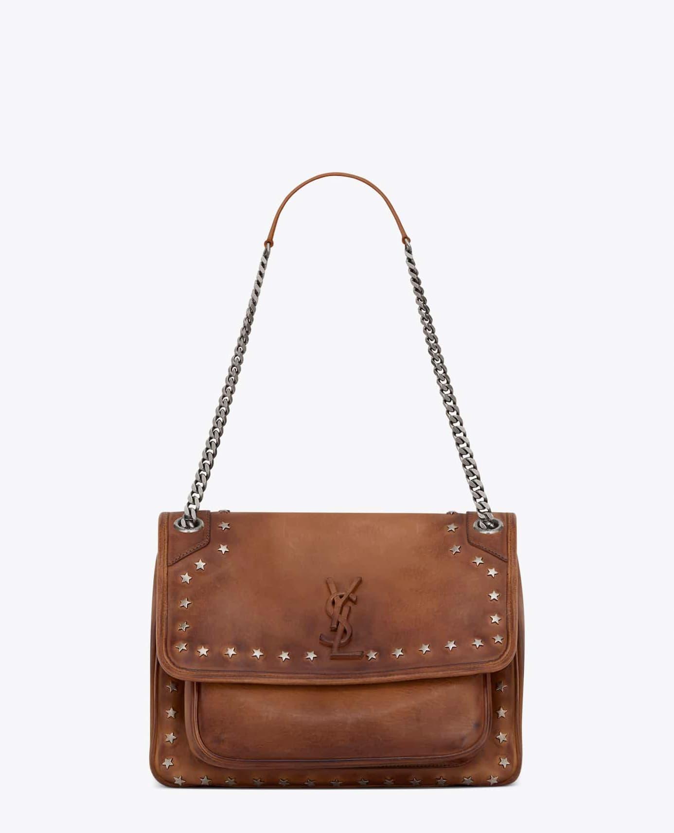 Medium Niki in Brown Vintage (HK$25,500)